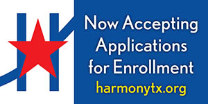 Now Accepting Applications for Enrollment | Horizontal Banner