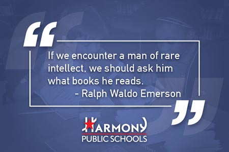 If we encounter a man of rare intellect, we should ask him what books he reads. — Ralph Waldo Emerson