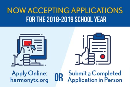 Now Accepting Applications for the 2018-2019 School Year.